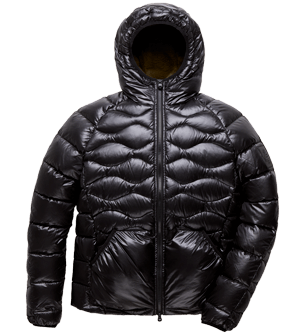 Explorer fur jacket Black