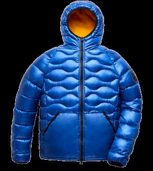 Explorer fur jacket Blue