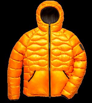 Explorer fur jacket Orange