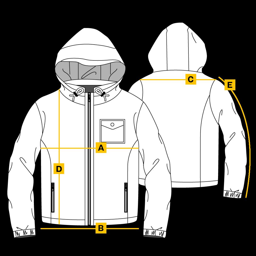 Boy size guide jackets